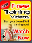 Sailing training instruction videos