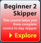 Beginner to skipper sailing courses in Europe